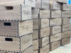 Thankful Walnut Boxes