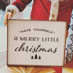 Custom Have Yourself a Merry Little Christmas