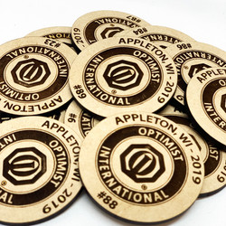Numbered Raffle Tokens
