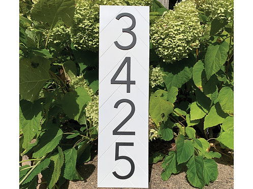 House Number Sign | House Numbers | Address Sign | Address Plaque