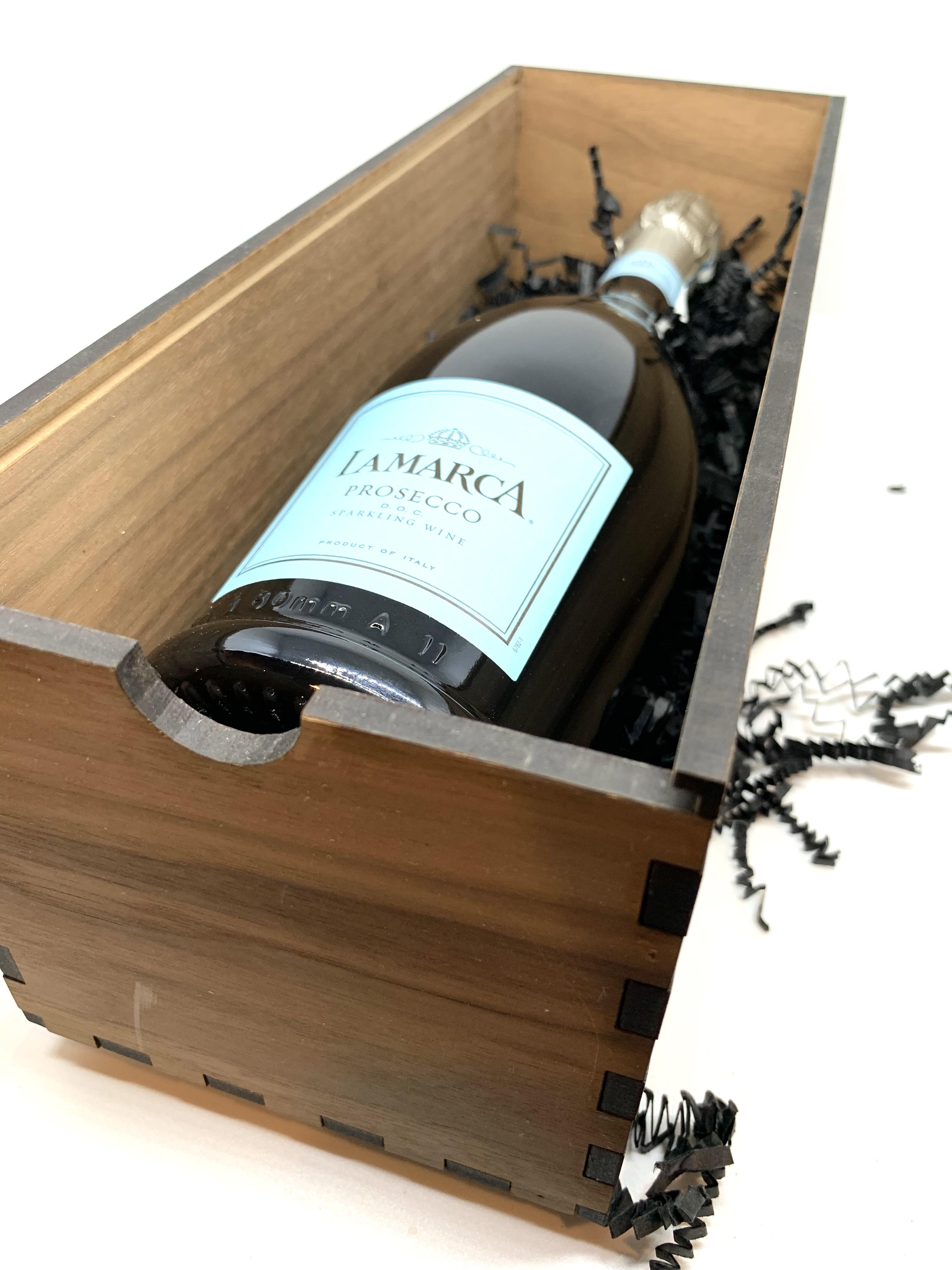 Sliding Lid Wine Box