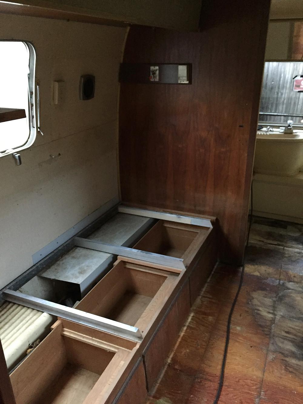original airstream bed