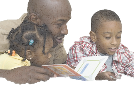 Father reading to kids, Read to your Child