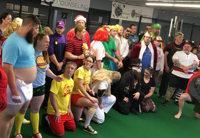 A Viking Halloween! 2019