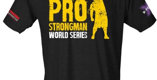 Arnold Pro Strongman World Series shirt