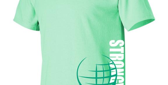 Strongman Corp Women's Mint Green T-Shirt