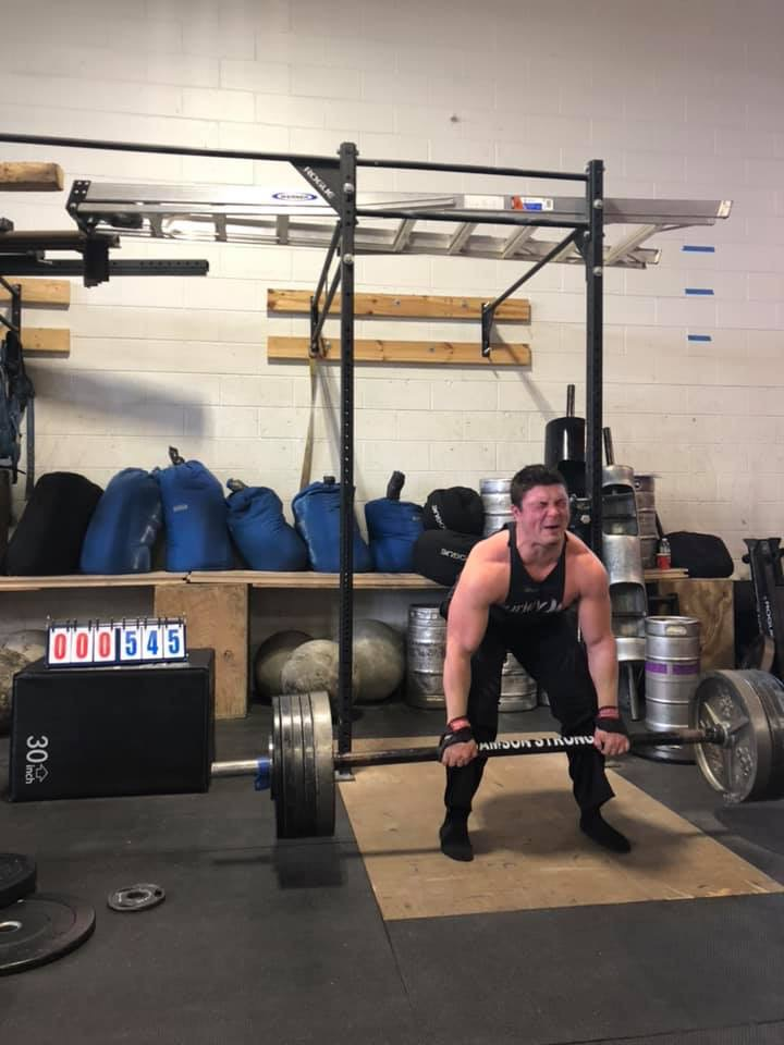 Pure Michigan Strongman Record Breakers Series