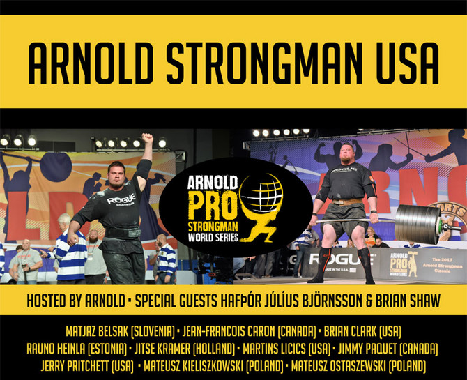 Arnold Strongman USA preview