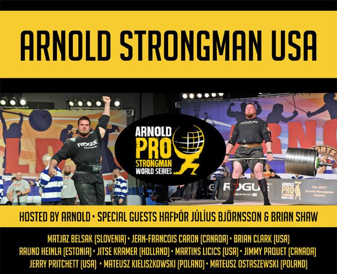 Arnold Strongman USA preview