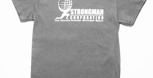 Strongman T-shirt Grey