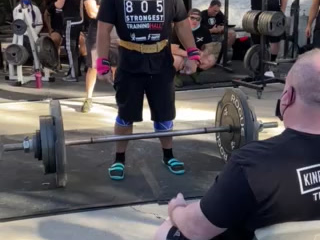 805 Strongest contest
