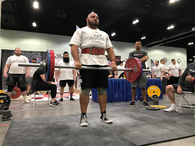 Strongman has given Jose Baez a second spark to life.