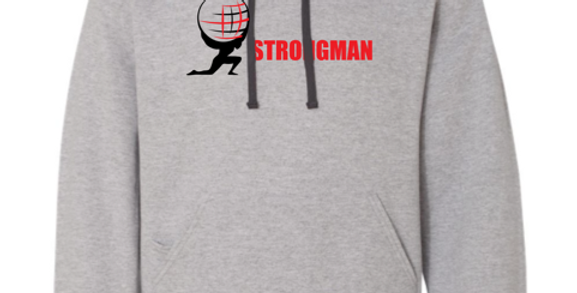Strongman Corporation Athletic Hoodie Grey