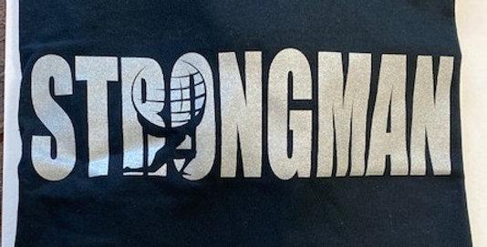 Strongman Metallic Logo
