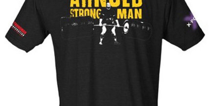 Arnold Pro Strongman World Series shirt (feat Brian Shaw)