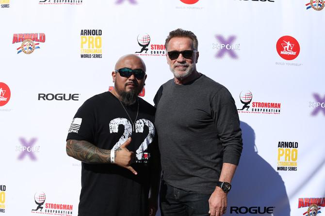 Arnold Strongman USA Photos