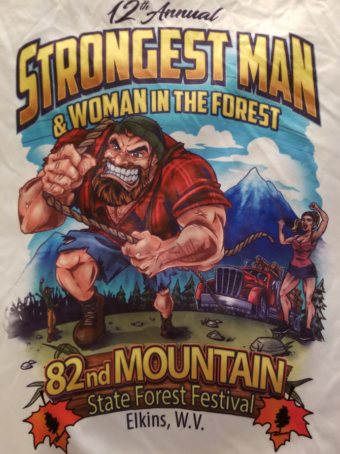 Strongest Man/Woman in the Forest