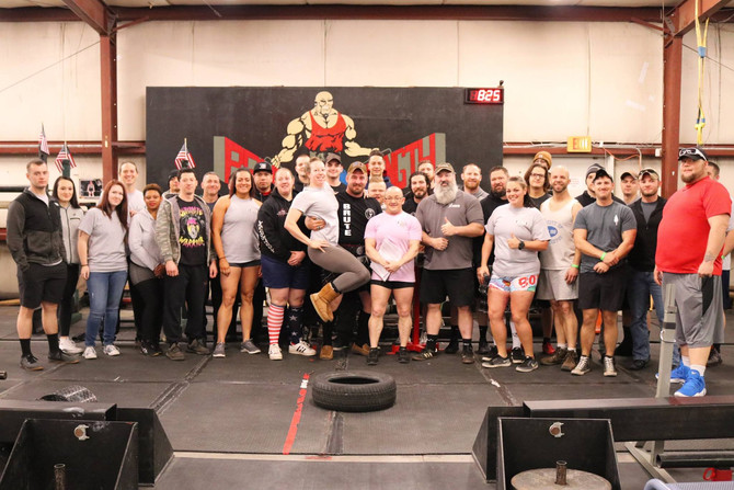 Brutes Strongest Man/Woman Feats of Strength Competition
