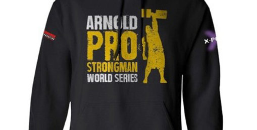 Arnold Pro Strongman World Series hoodie