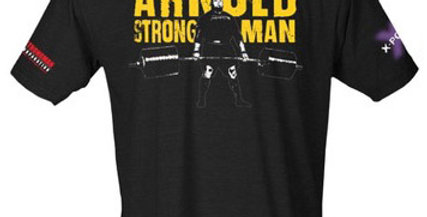 Arnold Pro Strongman World Series shirt (feat Jerry Pritchett)