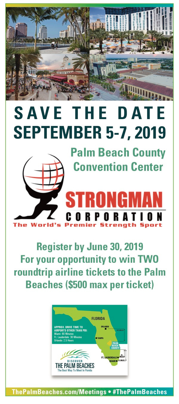 SEPT 5-7 Palm Beach County Convention Center