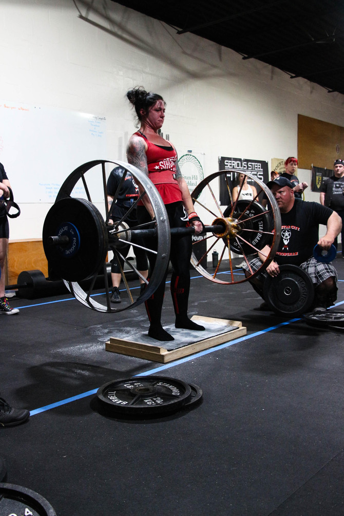 The 3rd Annual Star City Strongman competition