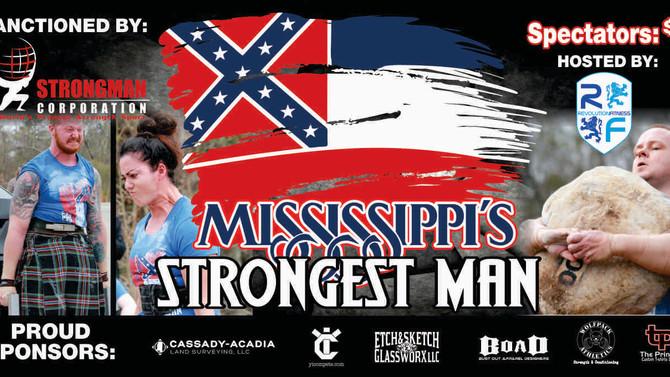 Mississippi's Strongest Man 2018 Recap