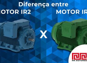 Qual a diferença entre os motores IR2 e IR3?