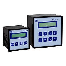 Controladores automáticos do Fator de Potência PFW01