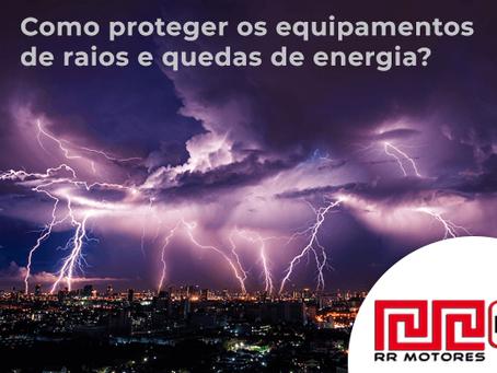 Raios e trovões. Como proteger os equipamentos elétricos?