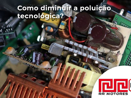 Como combater a poluição tecnológica?