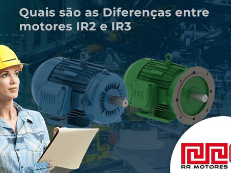 Diferenças entre motores IR2 e IR3