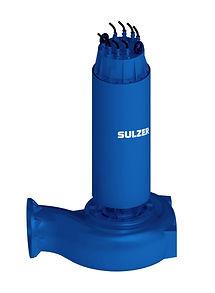 Bomba submersível para esgoto modelo ABS AFP