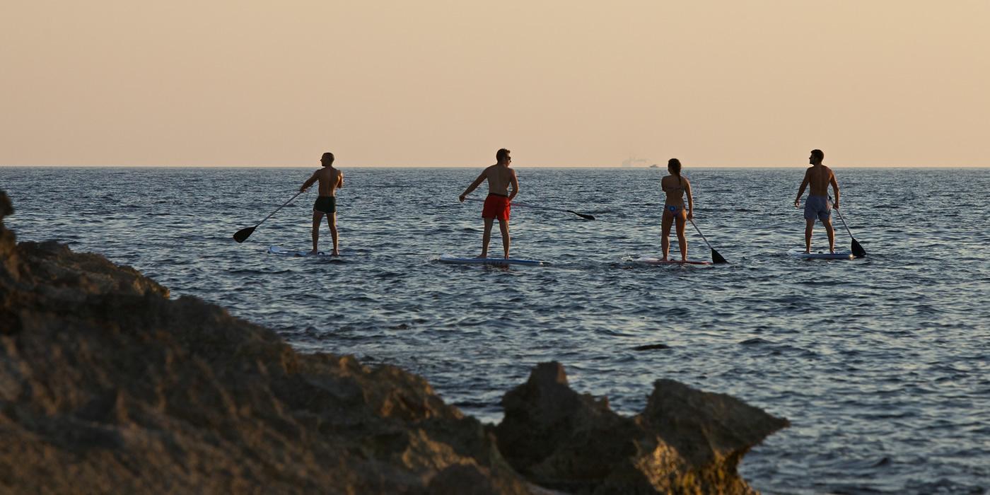 Guide tour paddel surf