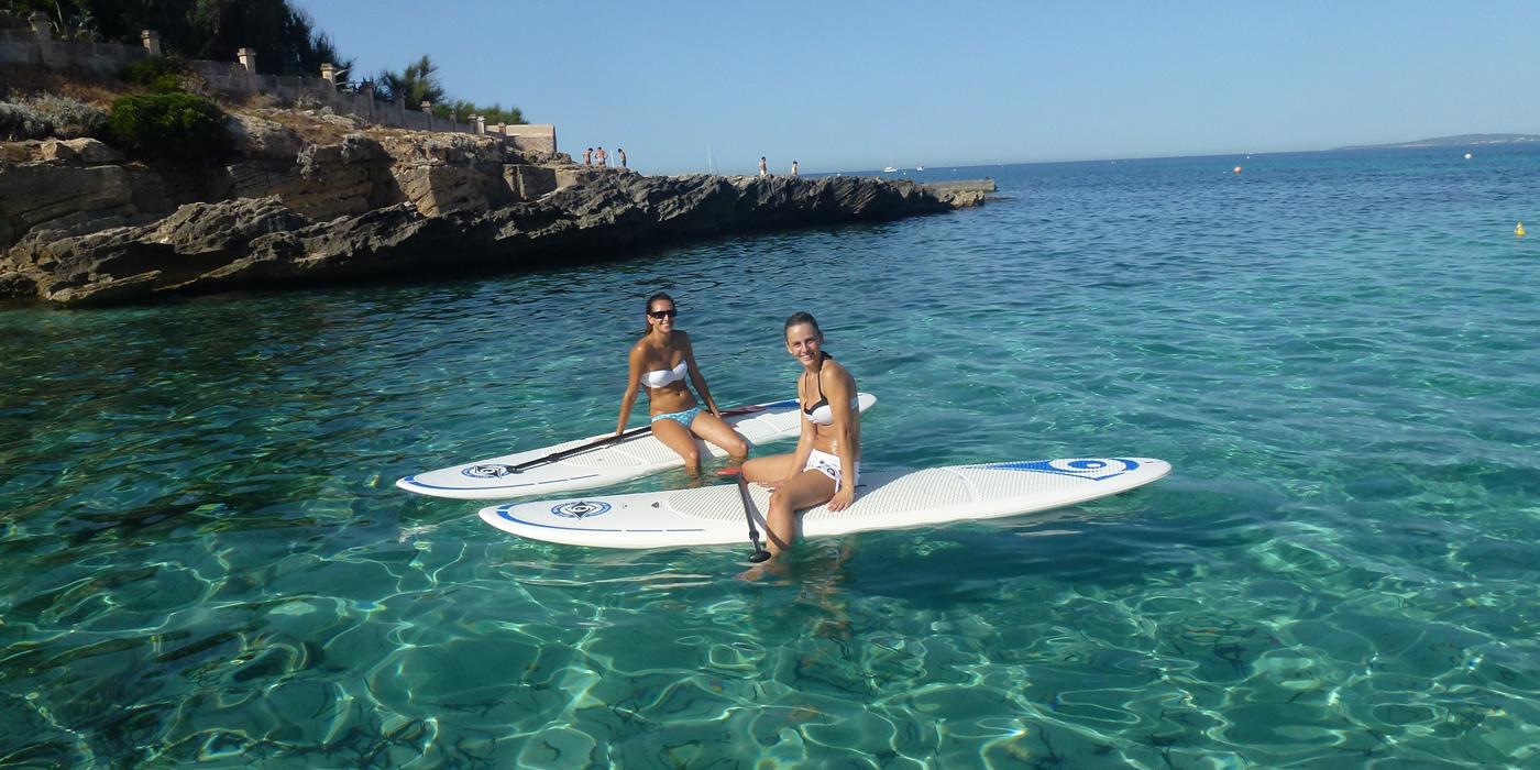 Excursión en paddel surf