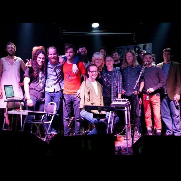 "ATL Collective, Atlanta, performing Nirvana ""Nevermind"""