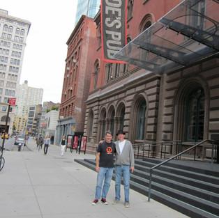 Joe's Pub NYC, post sound check