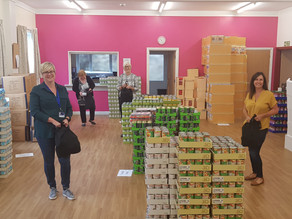 Amazing volunteer effort helps get Summer Foodpacks scheme underway