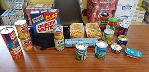 Summer Foodpacks items 2020