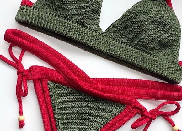 Calcinha Alana Red / Cross'n'knot