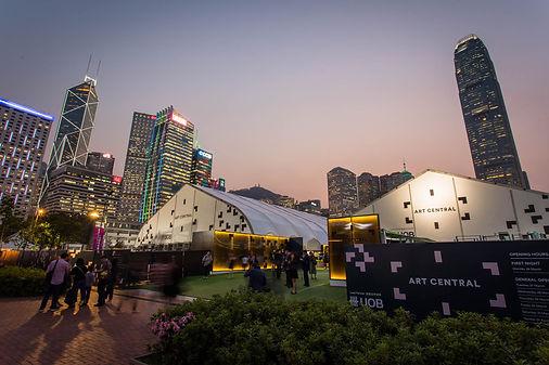 Art Central Tent