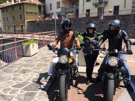 Una domenica in moto