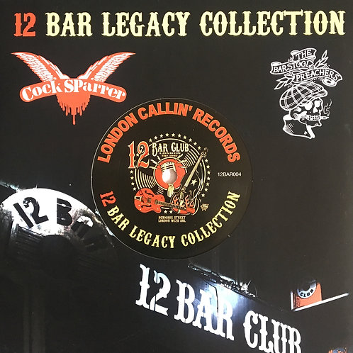 Cock Sparrer/ The Bar Stool Preachers – 12 Bar Legacy Collection