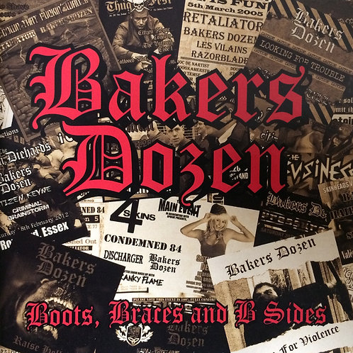 Bakers Dozen - Boots, Braces And B Sides