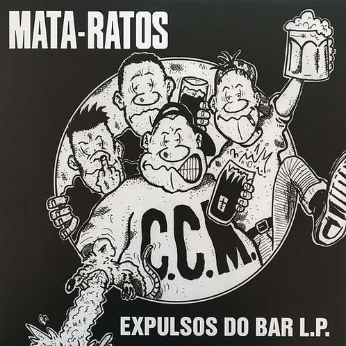 Mata-Ratos - Expulsos do Bar LP