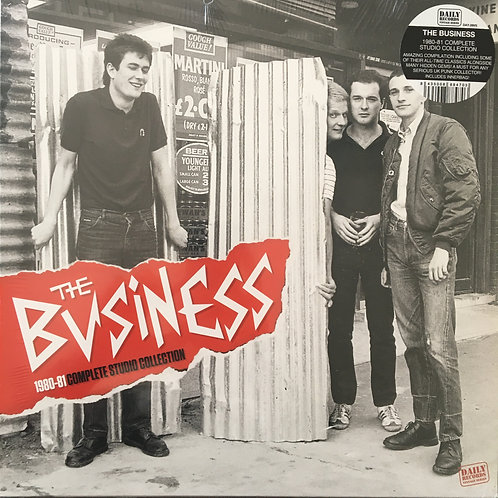 The Business - 1980/81 Complete Studio Collection