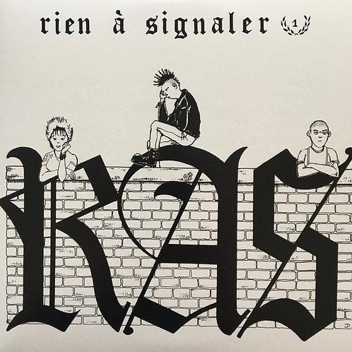RAS - Rien A Signaler