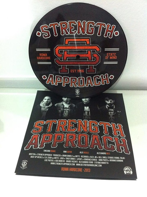 Strenght Approach - Roma Hardcore State of Mind 7""