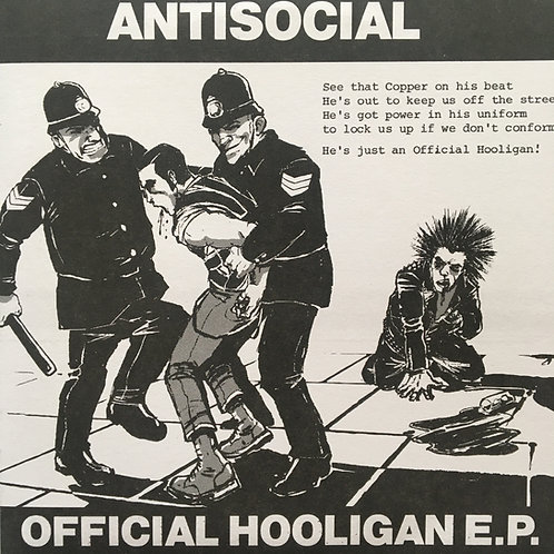 Antisocial - Official Hooligan E.P.