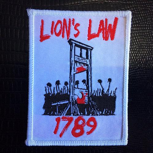 Lion's Law 1789